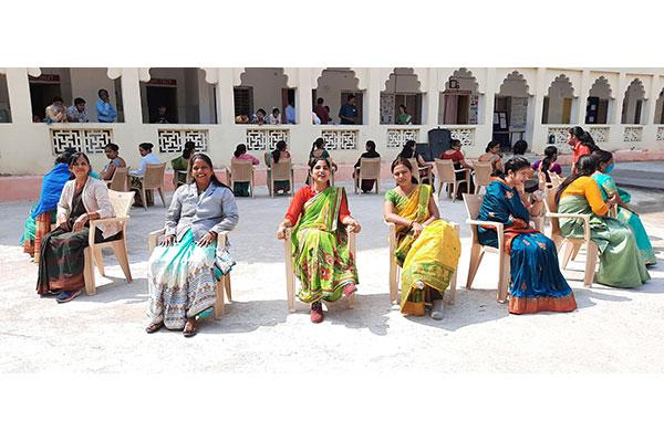 Maharishi Vidya Mandir Shahdol celebrated International Women's Day on March 8th 2021, An enjoyable activity musical chair race was organized. All the teachers and staff Sahastra Sheersha Devi Mandal  participated in the activities.