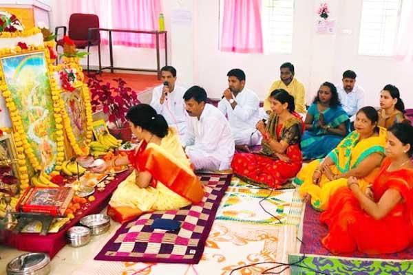 Shri Ram Janm Bhoomi Pujan celebrated in MVM Shahdol. On the auspicious occasion Shri Guru Pujan, Transcendental Meditation and Sundar Kand Paath was recited.